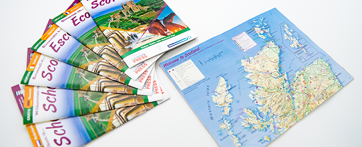 Welcome to Scotland Guide ALL Covers and map